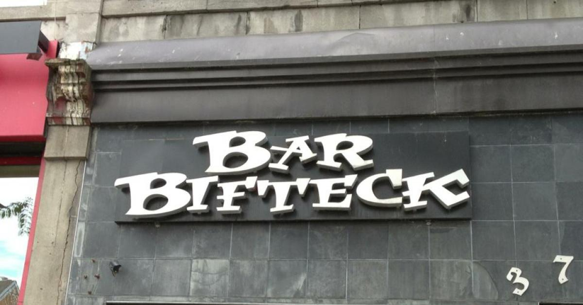 Bar Bifteck Saint-Laurent