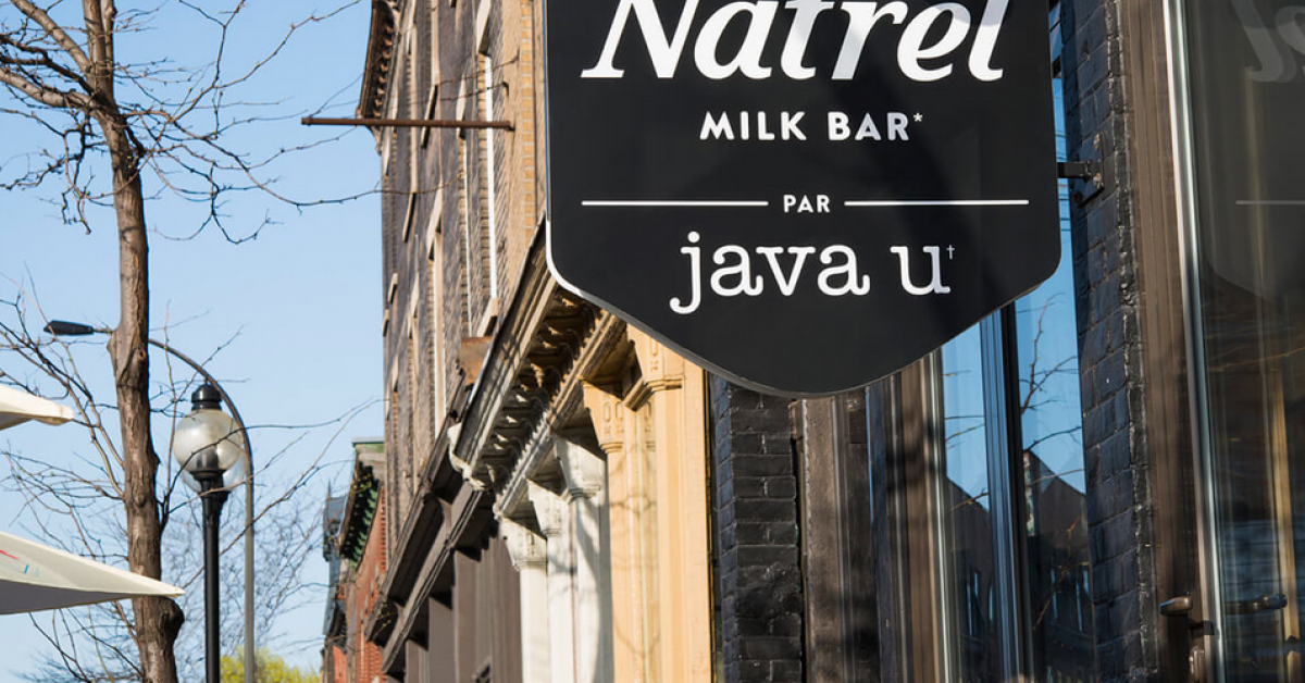 Natrel Milk Bar par java U