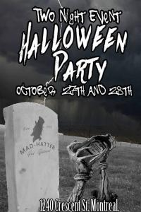 Hatters Halloween Party