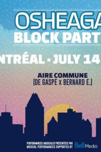 Osheaga Block Party Montréal